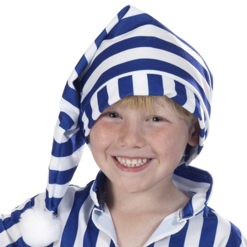 Willie Winky Night Cap fancy dress Costume for Kids (Kind Willie Kostüm)