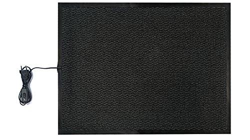 INROT Heiz Systeme, wasserdichte Teppichheizmatte 60 x 80cm, 140 W, - Carbon X-schwer Entflammbar