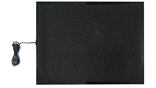 INROT Heiz Systeme 70125 INROT wasserdichte Teppichheizmatte 60x80cm, 140 Watt - Entflammbar X-schwer Carbon