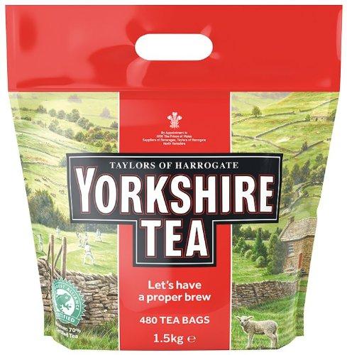 Taylors of Harrogate Yorkshire Tea 480 Btl. 1.5kg – Schwarzer Tee Teebeutel