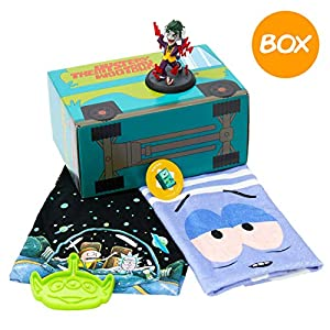 WOOTBOX Cartoon-Talla S Rick and Morty recinto Regalo, 3665113000940, Verde, S