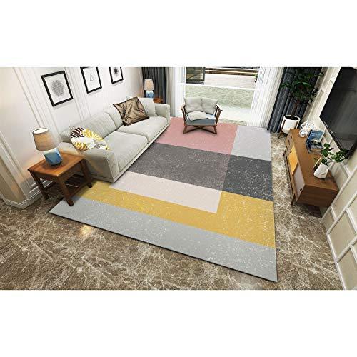 59095a35d8c6 ZQG Teppich nordischer einfacher moderner Teppich-Haushalts-Teppich (Farbe  : A, größe
