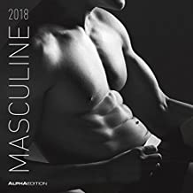 Masculine 2018 - Men - Männer - Broschürenkalender (30 x 60 geöffnet) - schwarz/weiß - Erotikkalender