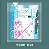 Monsta X - [Shine Forever] 1st Repackage Album A Version - Shine Forever CD+1p Folding Bromide(A Ver Only)+88p Booklet+1p Photocard+9p Sticker+1p Pre-Order Poster(On-Pack) K-POP Sealed