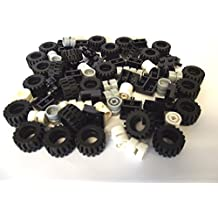 LEGO CITY - Wheel, Tire and Axle-Set - 72 pieces. Delivery as illustrated. by LEGO