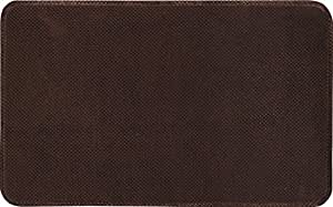 Home Dynamix 20-Inch-by-32-Inch Non Slip Anti-Fatigue Memory Foam Mat, Brown by Home Dynamix