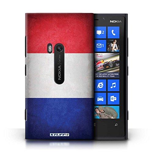 Coque en plastique pour Nokia Lumia 920 Collection Drapeau - Suisse France/français