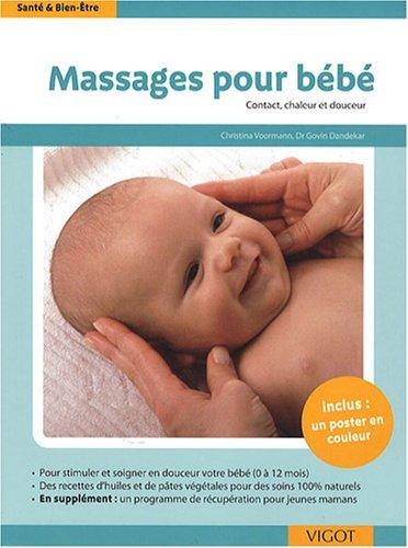 Massages pour bébé : Contact, chaleur et douceur