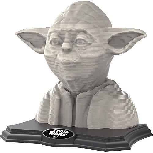 Educa Borrás 3D Sculpture - Puzzle con diseño Yoda 16501