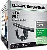 Rameder Komplettsatz, Anhängerkupplung starr + 13pol Elektrik für VW Lupo (124773-03398-2)
