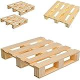 12 tg. Set: kleine Untersetzer / Deko / Spielzeug _  Holz - Paletten  - Glasuntersetzer - Bierdeckel - Dekoration - Miniatur / Diorama - Getränke / Bar - Kü..