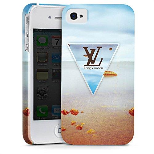 Apple iPhone X Silikon Hülle Case Schutzhülle Urlaub Strand spruch Premium Case glänzend