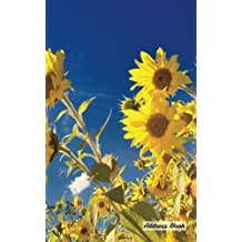 """Address Book: 5"""" x 8"""", Blank Address Book, Contacts, Addresses, Durable Cover, 100 pages, Nature (8)"""
