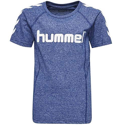 Hummel Jungen HMLPITTER S/S T-Shirt, Sodalite Blue, 152