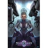 Poster Starcraft 2 Kerrigan
