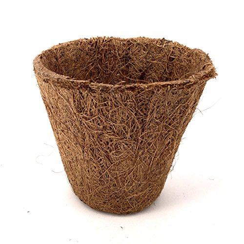 Nutley's Lot de 8 cm d'épaisseur Fibres de Coco biodégradable Flexible 2 Pots de Fleurs (100)