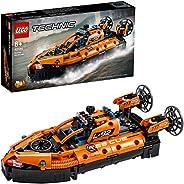 LEGO42120TechnicLuftkissenbootfürRettungseinsätze,2-in-1Modell,BausetfürJungenundMädchen,Spielzeu