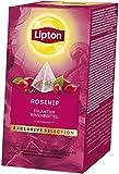 Lipton Hagebutte Früchtetee, 2er Pack (2 x 25 Teebeutel)