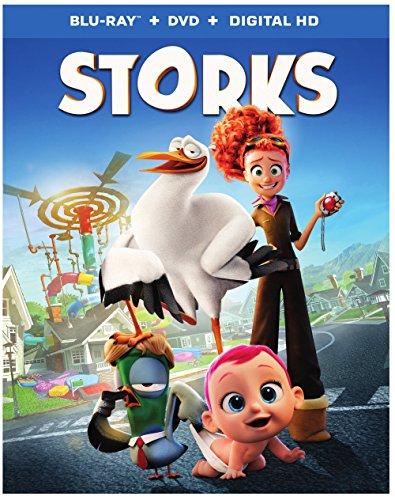 Storks (Blu-ray + DVD + Digital HD Ultraviolet)