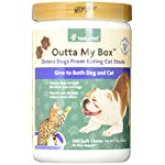 NaturVet Outta My Box Cat Stool Deterrant for Dogs and Cats (500 Soft Chews) 10