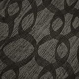 Russo Tessuti Copridivano Copri Divano Sofà Cover Linea Ambro Elasticizzato Fantasia Ray ONE-580 Grigio-Fascia Copriseduta 2 Posti