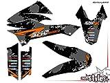 matt 690 SMC SMC/R Enduro (08-17)   Factory DEKOR Decals KIT Aufkleber Graphics