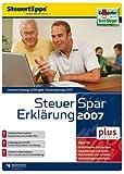 Steuer-Spar-Erklärung 2007 plus
