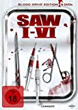 Saw I-VI (Blood Drive Edition, 6 Discs) - David Armstrong