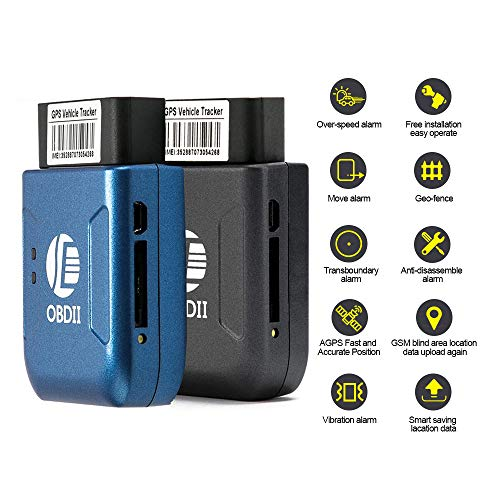 HUAXING GPS Tracker OBD localizador en Tiempo Real Plug and Play SMS/GPRS/gsm...