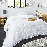Sweet Night 0210191Bettdecke 4Jahreszeiten Polyester Weiß 240x 260cm