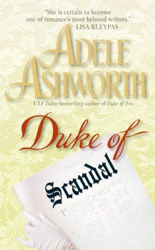 Portada del libro Duke of Scandal by Adele Ashworth (2006-04-25)