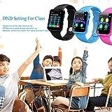 Muium G10A IP68 Wasserdicht Smart Watch Sport Fitness Armband Aktivität Herzfrequenz Tracker Blutdruck Uhr mit Schlafmonitor Schrittzähler Kalorienzähler für Kinder Damen Herrn (Pink)