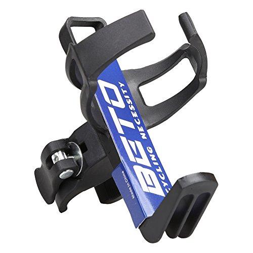 Magic Zone Einstellbare Fahrrad Fahrrad Aluminium Wasser Flasche Käfig Halter Rack (Wasser Fahrrad)