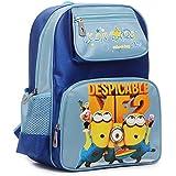 Liying Kids Vivid Cartoon Style School Bag Favorable with Kids Boys Girls Sturdy Bookbag Rucksack Comfy Shoulder Blue Backpack