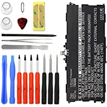 subtel® Batería premium para Samsung Galaxy Note 10.1 2014 / Tab Pro 10.1 + Juego de destornilladore (SM-P600 / SM-P601 / SM-P605 / SM-P607 / SM-T520 / SM-T525) (6600mAh) T8220E bateria de repuesto, pila reemplazo, sustitución