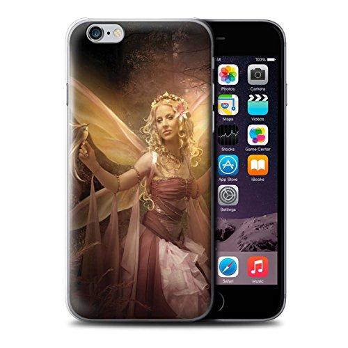 Officiel Elena Dudina Coque / Etui pour Apple iPhone 8 Plus / Robe Fleur/Mariée Design / Fées Élégantes Collection Femme Mystique