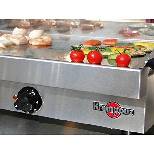 Krampouz profesional plancha Barbacoa Eléctrica mesa grill