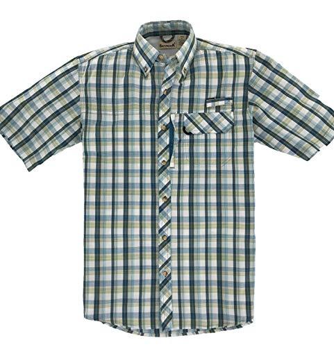 Backpacker Sport Utility Shirt, Herren, blaugrün -
