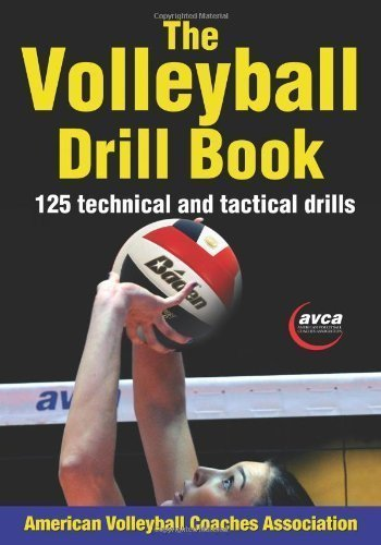 Volleyball Drill Book, The by American Volleyball Coaches Association (AVCA) 1st (first) (2012) Paperback