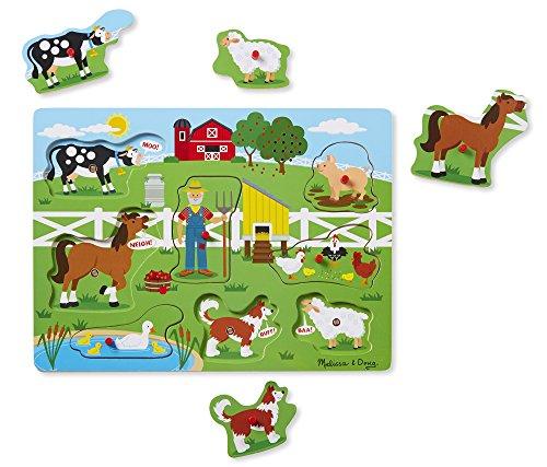 Melissa & DougSound Puzzle - Old MacDonald's Farm