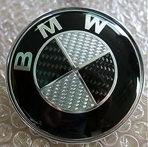 bmw emblem 82mm carbon motorhaube heckklappe e36 e46 e39. Black Bedroom Furniture Sets. Home Design Ideas