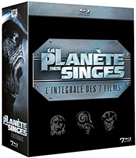 La Planète des Singes - Intégrale 7 Blu-ray (dont La Planète des singes : Les Origines) (B005MON9WU) | Amazon price tracker / tracking, Amazon price history charts, Amazon price watches, Amazon price drop alerts