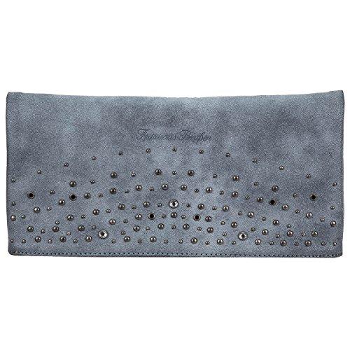 Fritzi aus Preussen, Damen, Handtaschen, Umhängetaschen, Clutch, Unterarmtaschen, Blau, 30 x 15 x 5 cm (B x H x T)