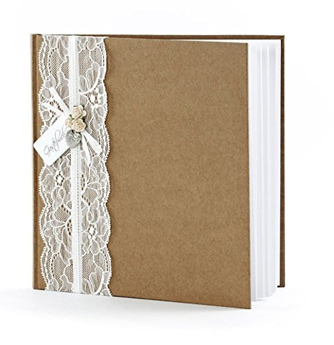 Gästebuch Hochzeit Hochzeitsgästebuch Fotoalbum Hochzeitsalbum Hochzeitsbuch mit Herz von Haus der Herzen ®