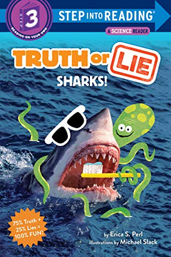 Truth or Lie: Sharks! (Step into Reading) (English Edition)