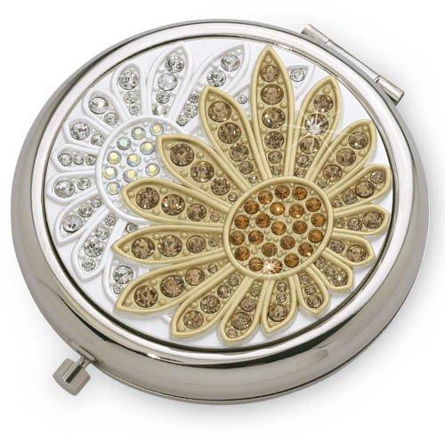 vanity-fair-dual-compact-mirror-sunflower-moonflower-silver