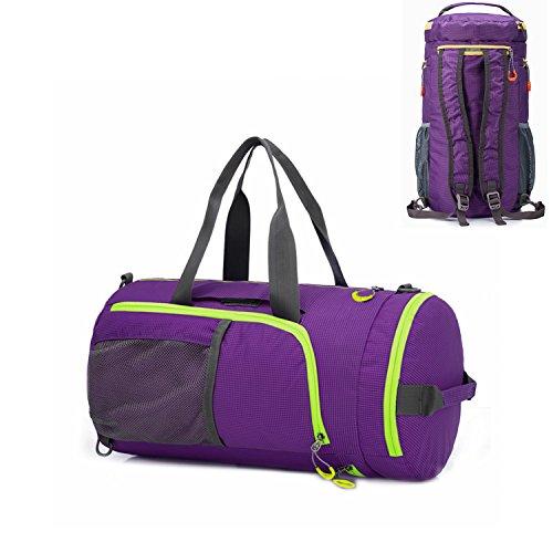 Frauen Rucksack Sport (Gym Bag Sporttasche,UBaymax Duffel Sport Faltbarer Travel Bag ,Schulter Rucksack Handtasche Wochenendtasche Reisetasche Handgepäck für Männer und Frauen)