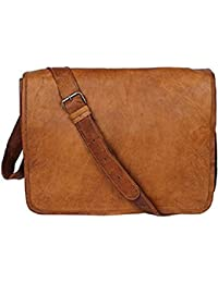 Pranjals House 11 Inch Leather Sling Bag For Unisex