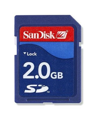Carte Memoire 2gb - SanDisk 2 Go Carte mémoire SD