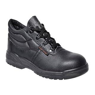 Portwest Mens Steelite Protector S1P Safety Boot Shoes FW10 Black 7 UK, 41 EU - EN safety certified